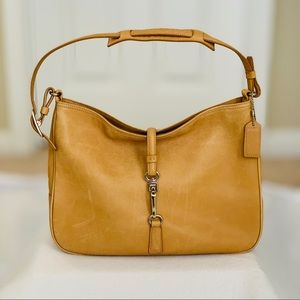 Coach Vintage Hamilton Shoulder Bag - Light Tan
